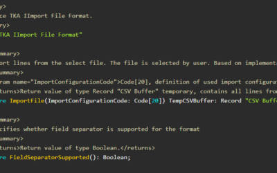 Import various file types with Interfaces