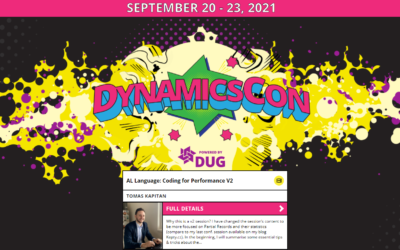DynamicsCon session today!