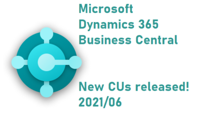 CU 2021/06 for Microsoft Dynamics NAV 2017 – 2018 and  Microsoft Dynamics 365 Business Central on-premises has been released