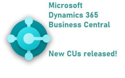 CU 2021/07 for Microsoft Dynamics NAV 2017 – 2018 and Microsoft Dynamics 365 Business Central on-premises has been released